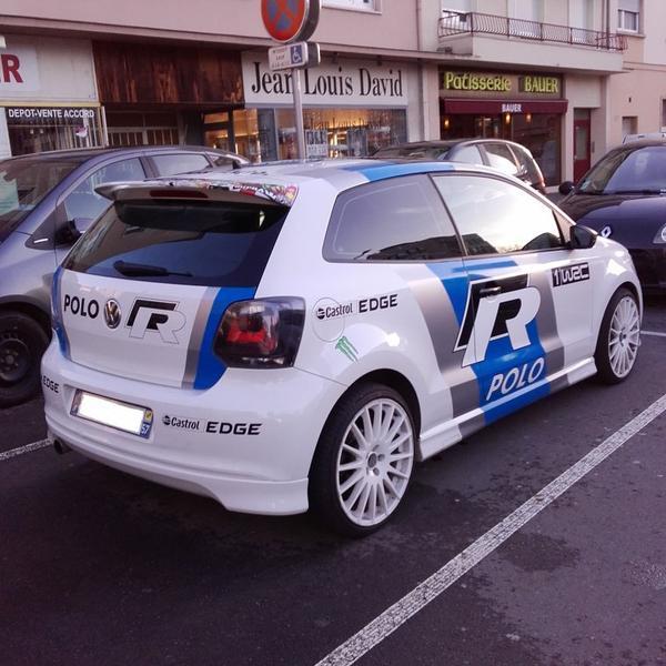 // VW POLO R WRC //