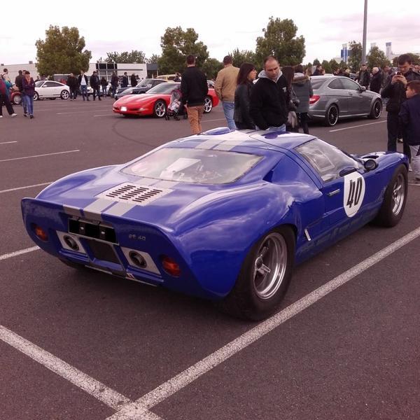 // FORD GT40 TYPE MK1 DE 1971 //