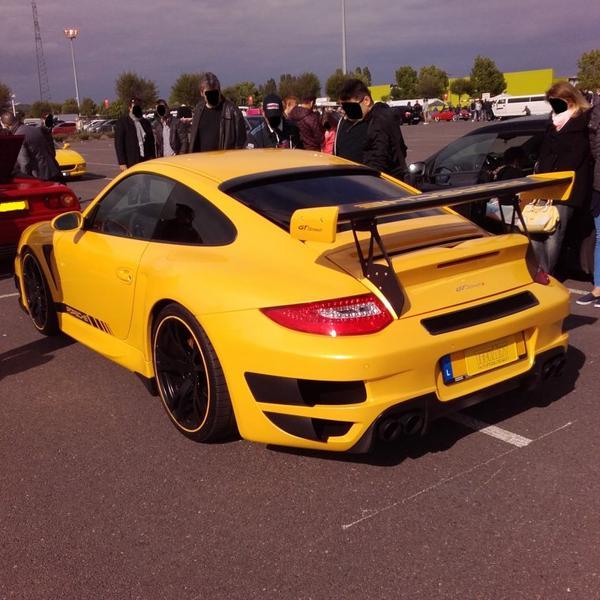 // TECHART PORSCHE 911 GT STREET R //