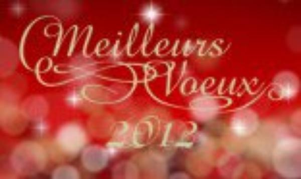 BONNE ET HEUREUSE ANNEE 2012 A TOUS !!!!!!!!!!!!!