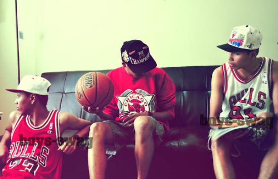 Le Basket, c'est la vie des garçons ♥