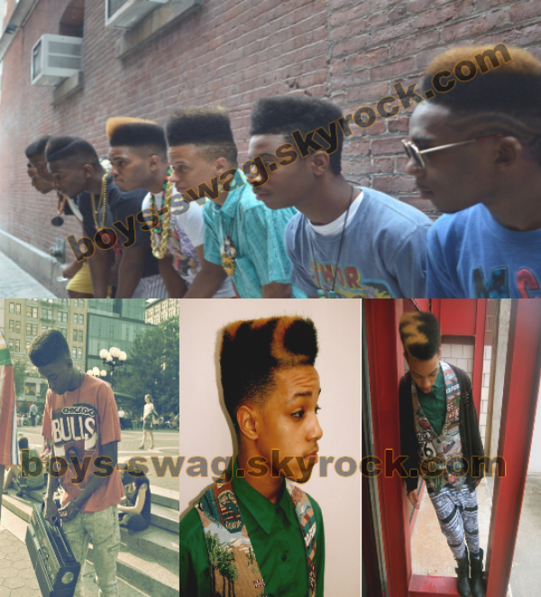 Coiffure afro for boys