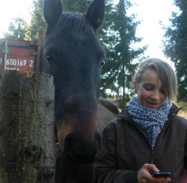 L`équitation , le seul sport individuel qui se pratique a deux. ♥