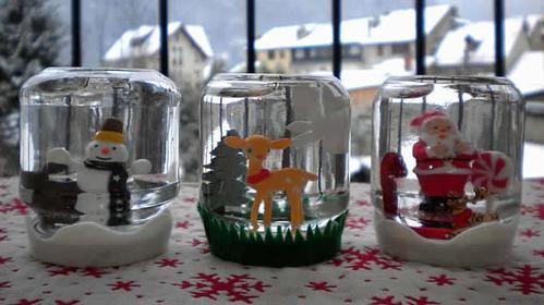 DIY n°8: boule de neige fait maison