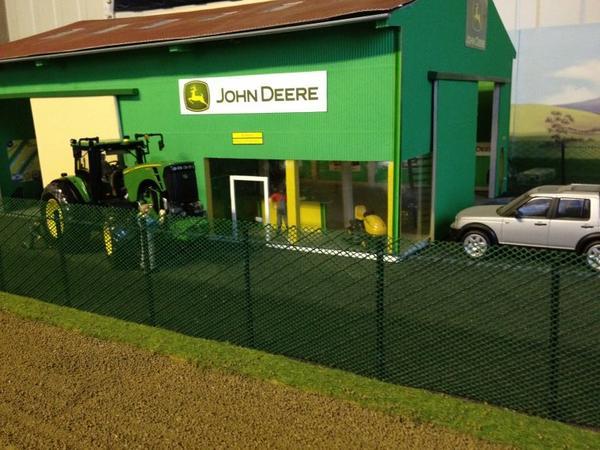 la concession JOHN DEERE