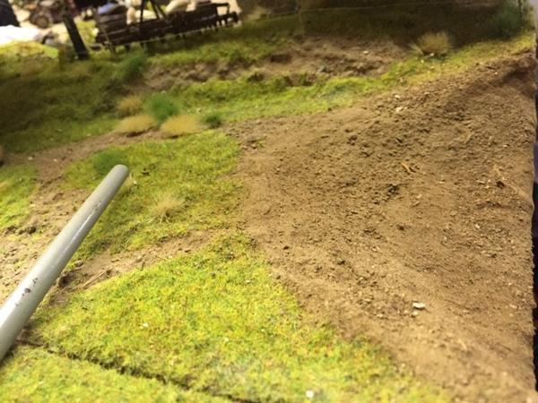Création d'une marre dans le parc des vaches