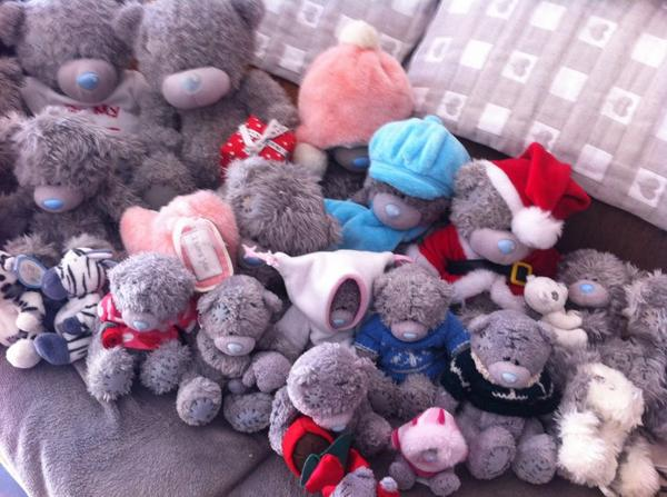 Mes peluches