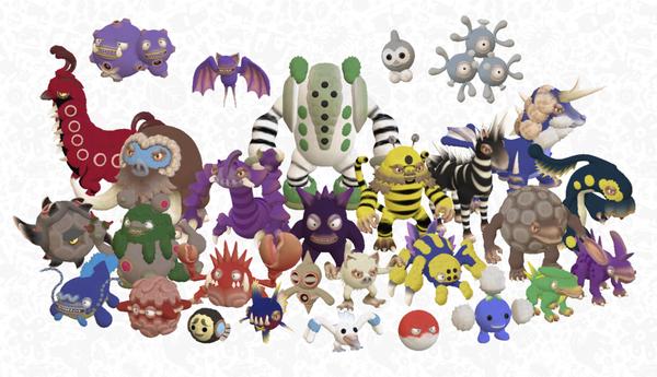 spore pokémon