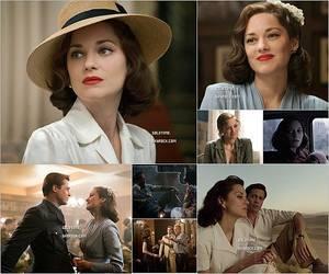 """_ 16/11 : Marion continue la promotion de """"Allied"""" lors d'un """"Afternoon tea"""" à New York.  Je trouve Marion très élégante dans cette tenue (déjà vue dans l'article prévedent). Vos avis ?"""