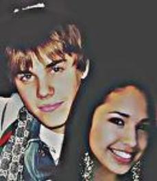 Justin Bieber & Jasmine Villegas (l)