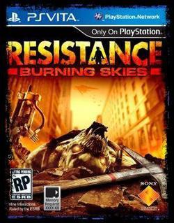 Resistance - Burning skies - Psvita
