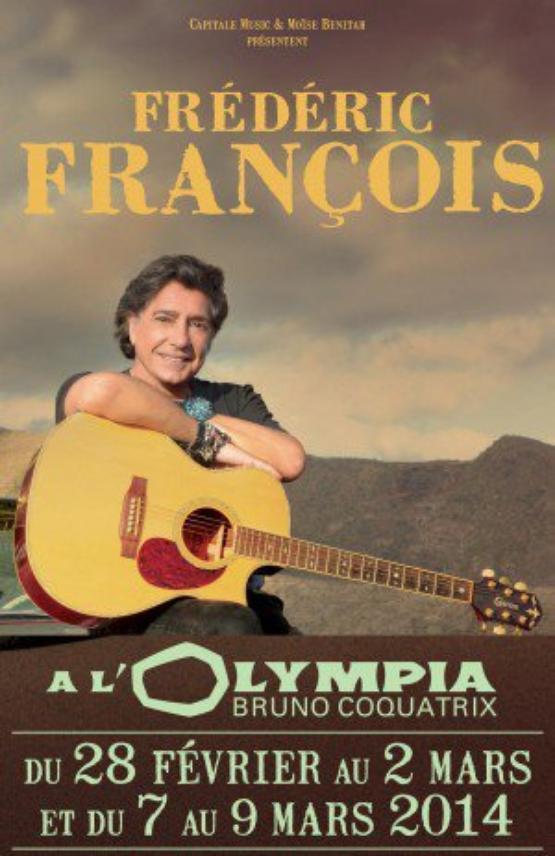 frédéric françois olympia 28 février 2014