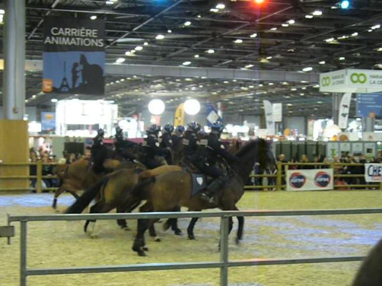 Salon du cheval à Paris en 2012