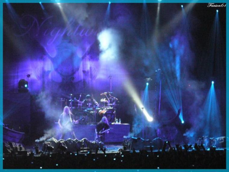 video du concert de Nightwish le 24 mars 2009