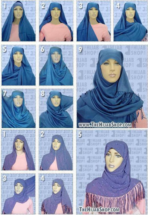 hijab tutorial 3