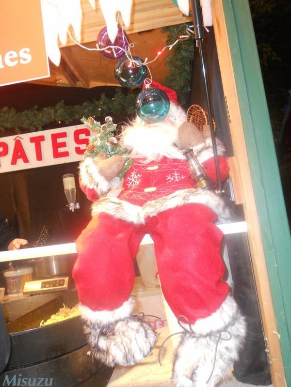 Le marché de Noel .