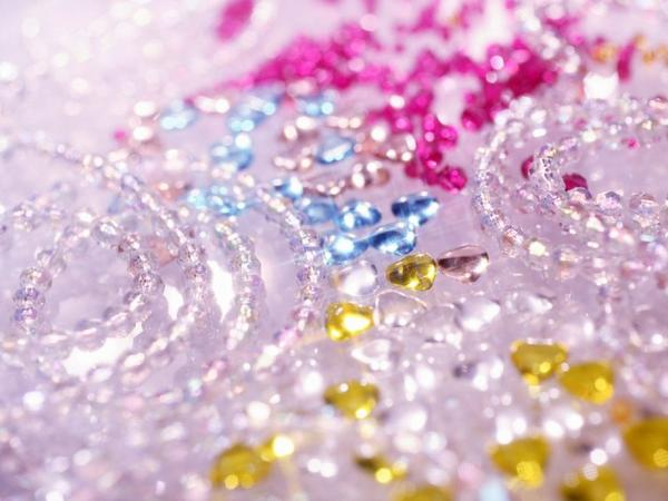 perles et perles de rosées