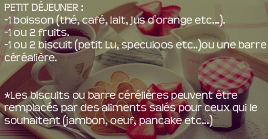 Mangeons équilibré ! ✌ ✿  ❀