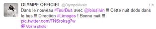 Lois - Photo du the voice tour 2013 à Nice et à dijon (photos twitter)