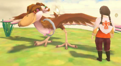 Kinaé, la fille aux oiseaux