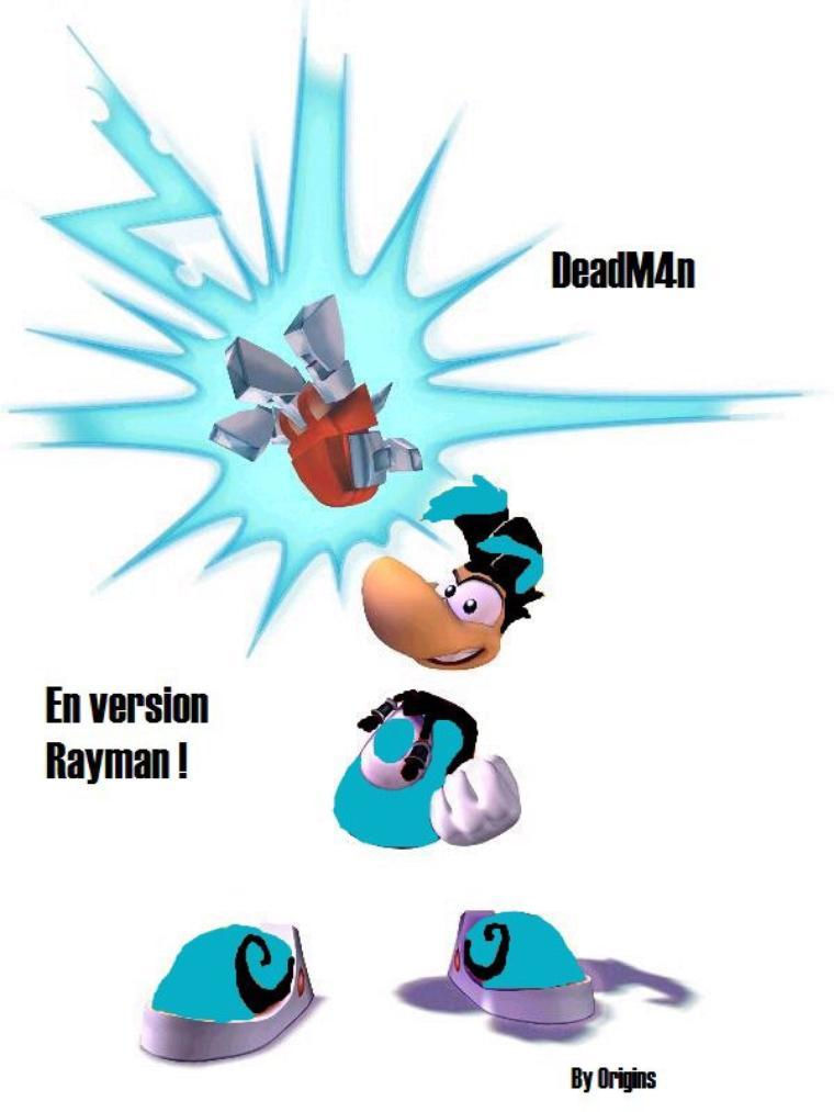 Moi en Rayman x)