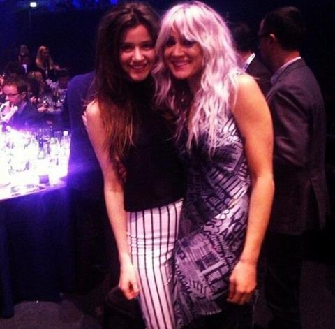 Louanor aux Brit Awards- 20/02/2013