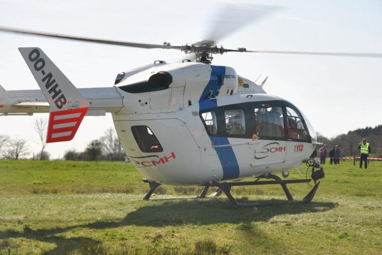 helicoptere de bras sur lienne