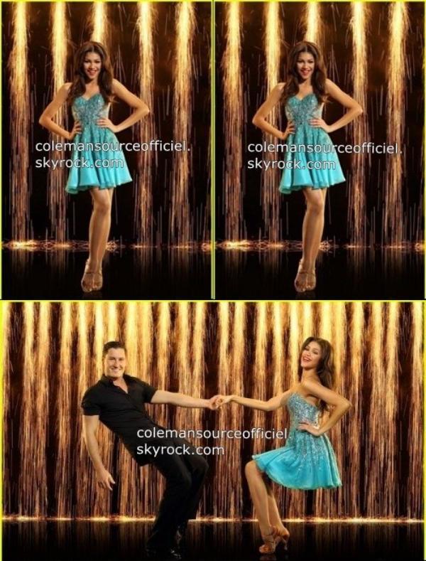 Nouvelle photo promotionnel de Zendy pour Dance avec les stars saison 16