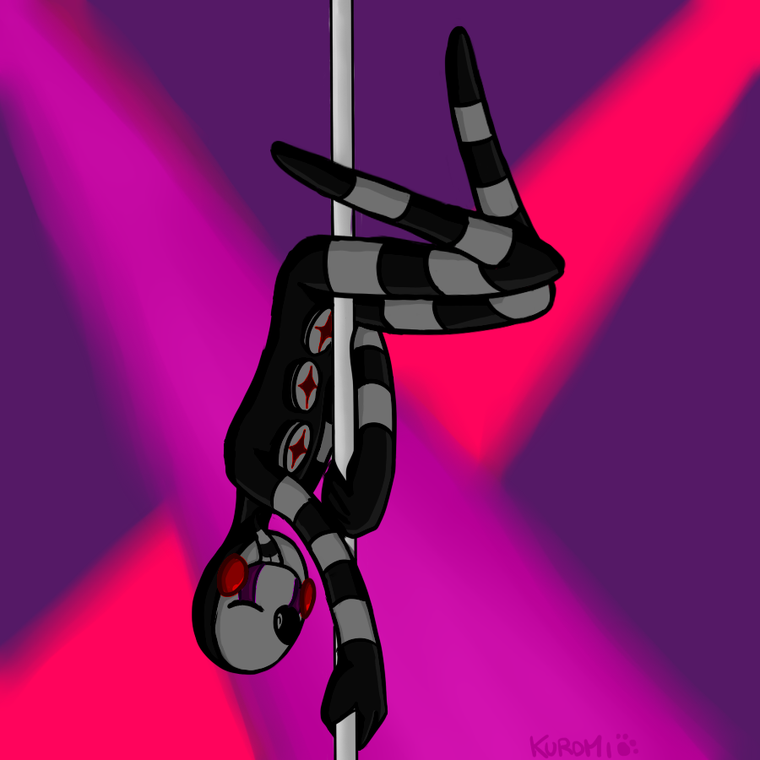 Pole dance Puppet !