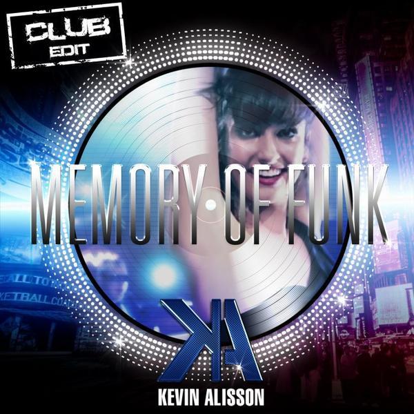 """Créa cover & Teaser by J2PG pour le titre """"Memory of Funk"""" de Kevin Alisson"""