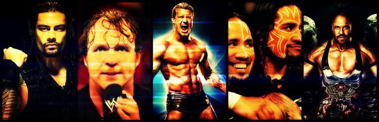 Mon Top 5 de Mes Catcheur Préféré de la WWE <3 ♥ ♥