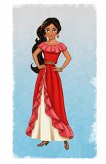Une nouvelle princesse Disney annoncé Elena !