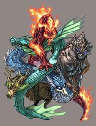 les quatres sauveurs du monde (de zakuro)