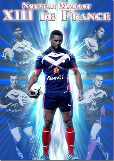 Equipe de France de Rugby a XIII !