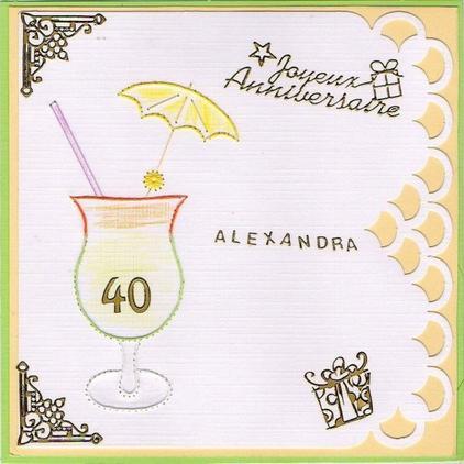 605 # carte anniversaire
