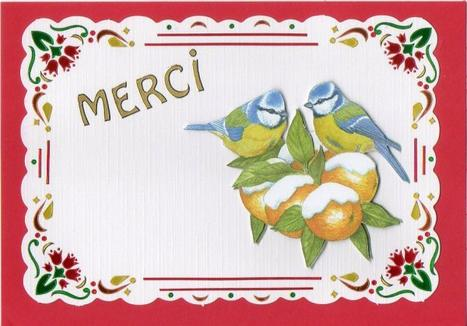 610 # carte de remerciment