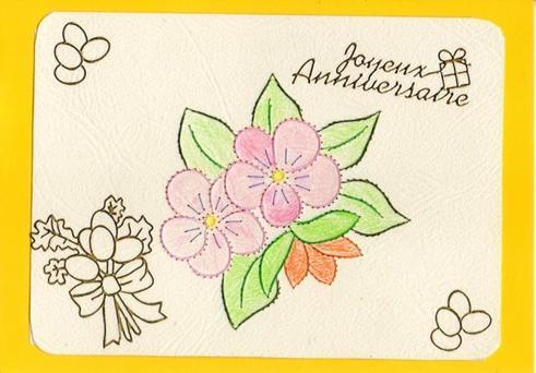 631 #  carte d'anniversaire