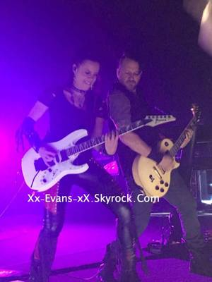 Review : Evanescence - Eventim Apollo/Londres 13/06/17 Partie II