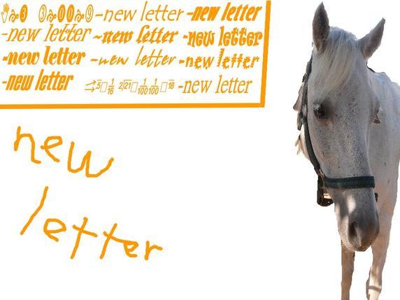 *New letter*