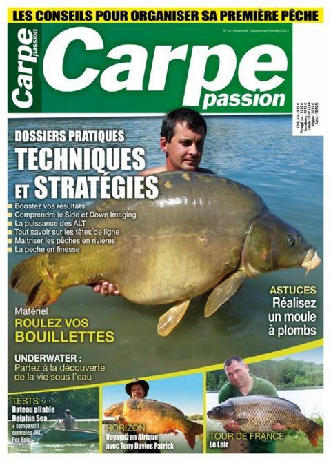 Carpe Passion n°34 octobre-novembre 2012