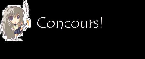 CONCOURS DE TENUES!