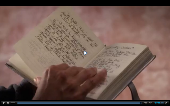 Page du journal d'Alison, episode 14 saison 4 ♥