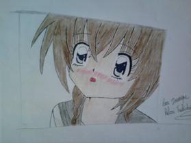 Mon dessin et L'original !