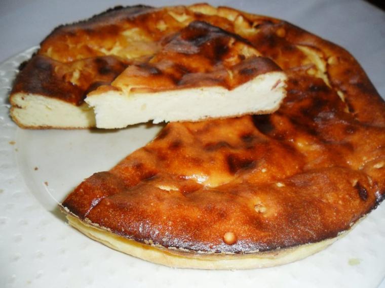 Délicieux Gâteau au citron et fromage blanc