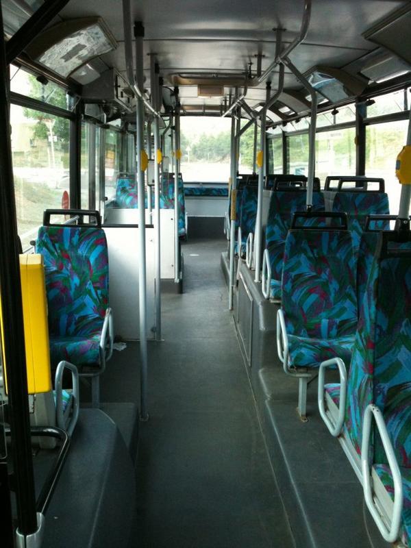 VANHOOL A 500 (moteur diesel) type  STANDARD numérotés de 297 à 325 : 15 bus identique en circulation actuellement.