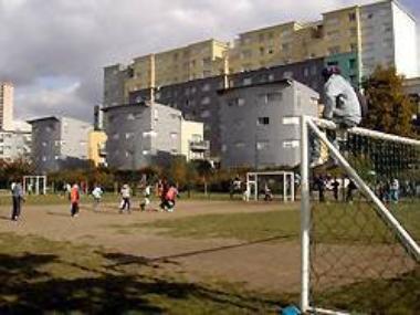 Le         quartier            Allende        .            Le quartier Péri - Langevin - Stalingrad - Politzer