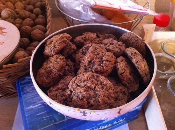 Après les sables les cookies