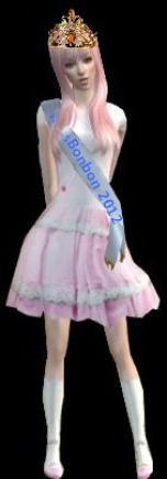 Miss Sims Bonbon 2012