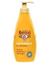 Le lait hydratant peaux très sèches Le Petit Marseillais