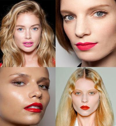 Les lèvres néon : tendance maquillage printemps été 2013